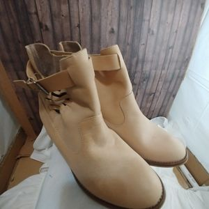 Cool Way Tan Ankle boots